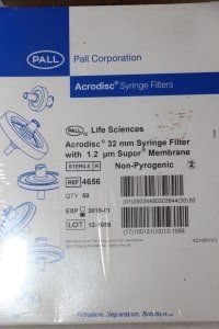 BD Lot of different types of syringes