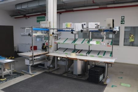 Packing Line with Lifting Table