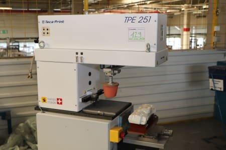 TECA-PRINT TPE251 Tampon Printing Machine