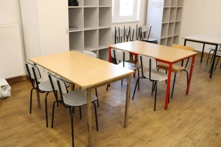 Chairs, Tables