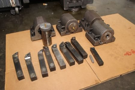 Lot Of Tools For Turning Center