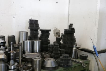 Lot Of Tools And Accessories For Gear Hobbing Machine