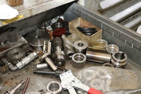 Lot Of Accessories For Gear Hobbing Machines