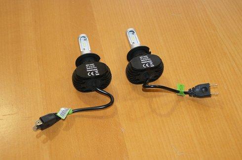 4 Uds Bombilla LED H7 12V 20W para coche o moto (Nuevas)