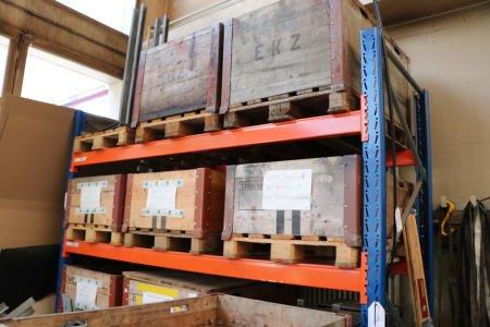 TRIGO SL 15 Pallet rack without contents