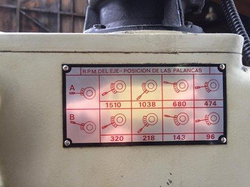 Taladro de columna ERLO TCA-25