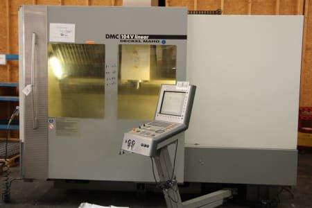 Centro de mecanizado vertical DECKEL MAHO DMC 104 V LINEAR