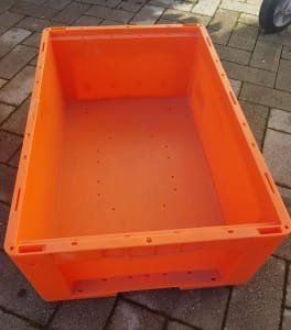 Contenedor industrial 36 without lid, approx. 600 x 400 x 200 mm