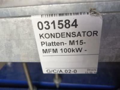 ALFA LAVAL M15-MFM 103 kW Heat Exchanger
