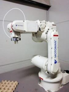 Robot de 6 ejes MOTOMAN HP3XF