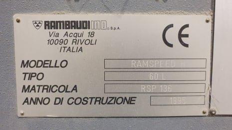 Fresadora puente RAMBAUDI RAMSPEED H