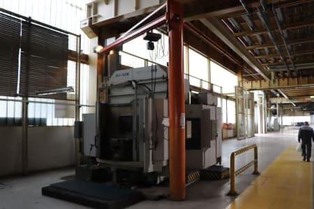 Centro de mecanizado CNC HELLER MCP H200