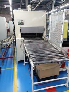 Horno de tratamiento térmico con rodillos transportadores SAT TUNNEL