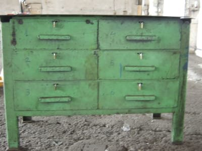 2x Workbench with hand tools