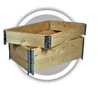 71 x folding / lifting frame / collar for Euro pallets