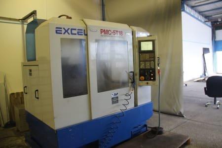 Centro de mecanizado vertical EXCEL PMC-5T18