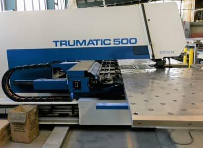 Punzonadora TRUMPF Trumatic 500