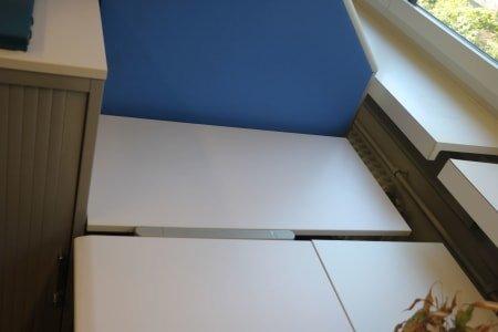 LISTA Corner Table Combination