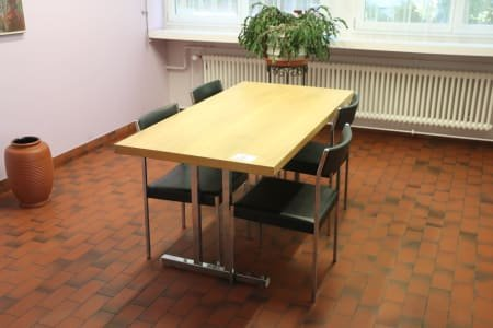 Conference Table with 4 Chairs