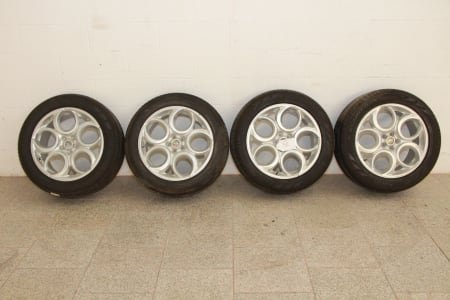 Lot of car wheels