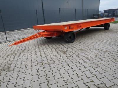 WMT D20/6,0 x 2,5 Heavy-duty trailer