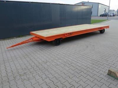 WMT D10/6,0 x 2,5 Heavy-duty trailer