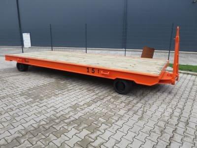 WMT D15/6,0 x 2,5 Heavy-duty trailer