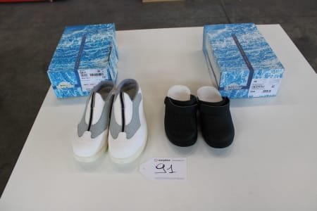 SAFE WAY S988 / CS11 Lot of sanitary-shoes
