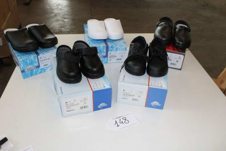 SIILI SAFETY 0QA713-00T913-S983-S981-AD813 Lot of safety-shoes