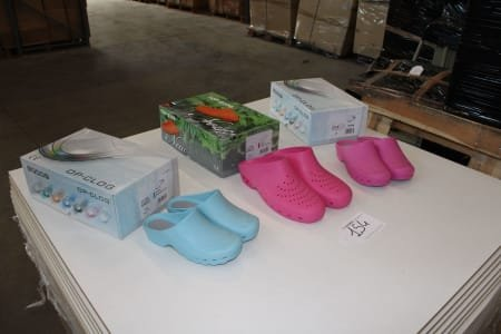 SAFE WAY K036-K018-K016 Lot of sanitary-shoes