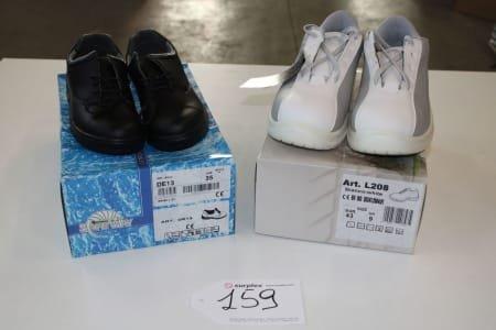 SAFE WAY 00DE13-DE13-L208 Lot of safety-shoes
