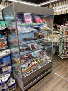 Estante de refrigeración ISA MARKET MURALI INFINITY NEW