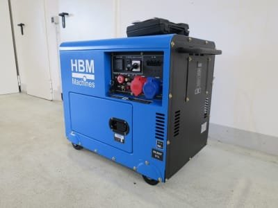 HBM HBM 7900 Diesel generator