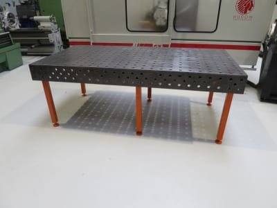 WMT 2400 / 1200 Welding table / assembly table