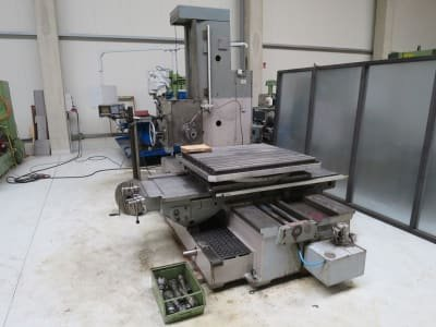 TOS W9 / W100.1 Table boring machine
