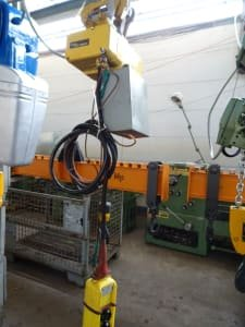 KAISER UND KRAFT 557-293 Electric Chain Hoist