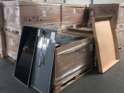 FIRST SOLAR FS 272/75/77 250 pieces First Solar - PV-modules
