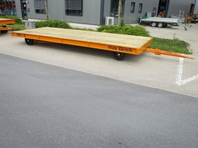 WMT D05/5,0 x 2,0 Heavy-duty trailer