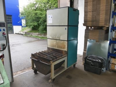 BECK Brennfix BE-BF 80/100 Firing table with workplace extraction