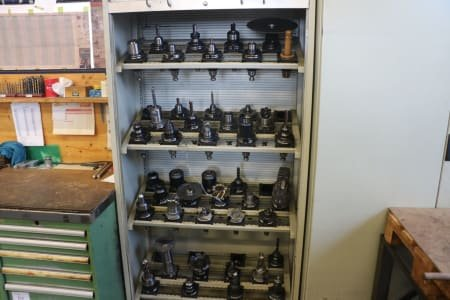 Workshop Cabinet with ISO 50 Tool Holders