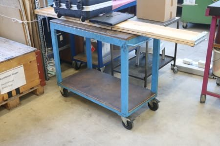 5 Workshop Trolleys