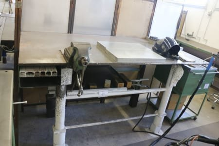 Welding Table with Vice