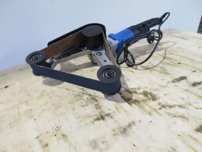 Pipe grinding / Burnishing HBM 40 x 160