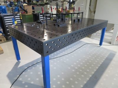 Welding Table WMT 2400 / 1200 Nitri