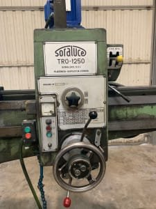 Taladro radial SORALUCE TRO 1250