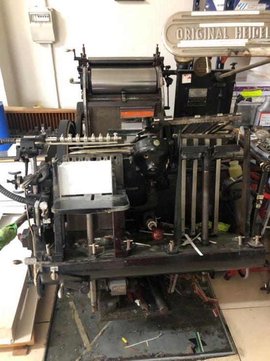 Lote de máquinas
