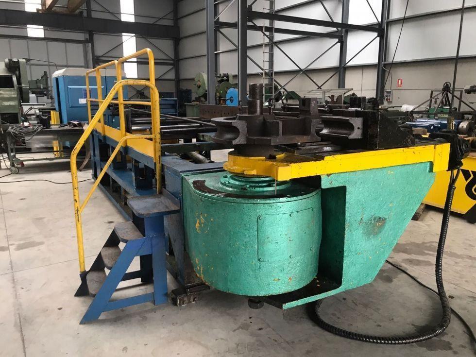 Curvadora tubos y perfiles para grandes espesores