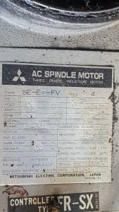 MITSUBISHI SE-EF-FV 7,5 kW AC Spindle Motor