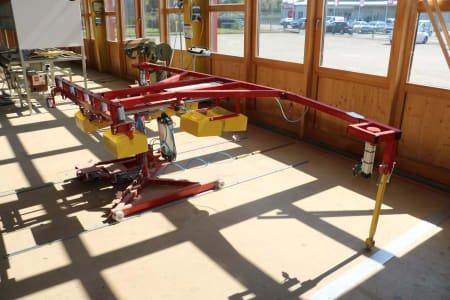 RUCHSER RU-4SSP Rotary Tilting Table