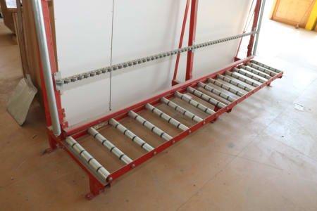 RUCHSER RU-RD30/50/5G Window Roller Conveyor